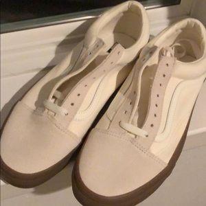 d4beab97e0 Vans Shoes - VANS Old Skool Canvas Gum Bottom White Sneaker